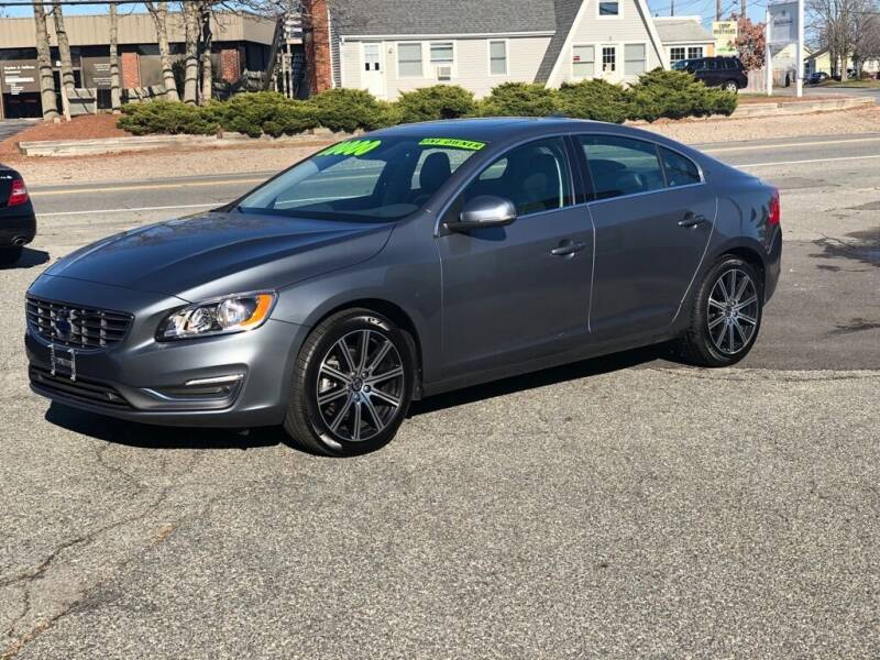 2017 Volvo S60 for sale at HYANNIS FOREIGN AUTO SALES in Hyannis MA