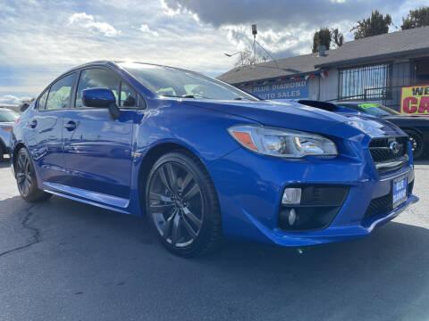 2016 Subaru WRX for sale at Blue Diamond Auto Sales in Ceres CA
