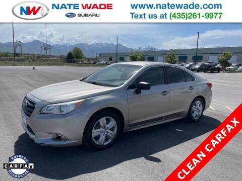 2016 Subaru Legacy for sale at NATE WADE SUBARU in Salt Lake City UT