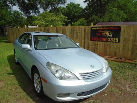 2002 Lexus ES 300 for sale at Hot Deals Auto LLC in Rock Hill SC