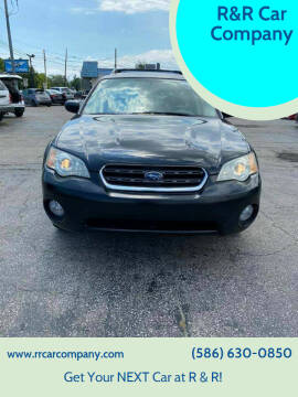 2007 Subaru Outback for sale at R&R Car Company in Mount Clemens MI