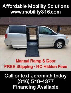 2012 Dodge Grand Caravan for sale at Affordable Mobility Solutions, LLC - Mobility/Wheelchair Accessible Inventory-Wichita in Wichita KS