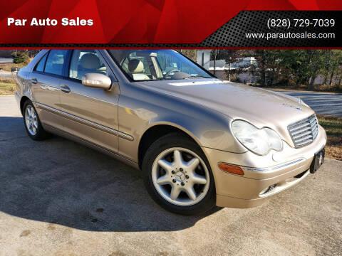 2003 Mercedes-Benz C-Class for sale at Par Auto Sales in Lenoir NC