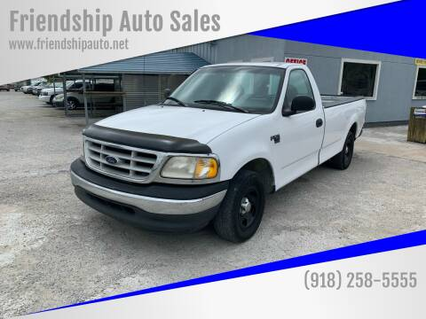 1999 Ford F-150 for sale at Friendship Auto Sales in Broken Arrow OK