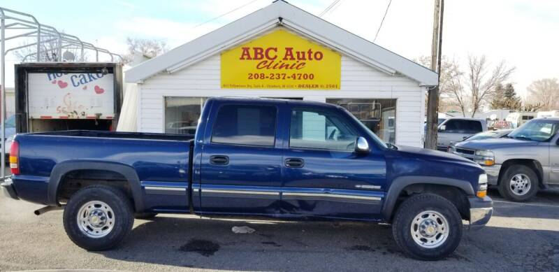 2001 Chevrolet Silverado 1500HD for sale at ABC AUTO CLINIC - Chubbuck in Chubbuck ID