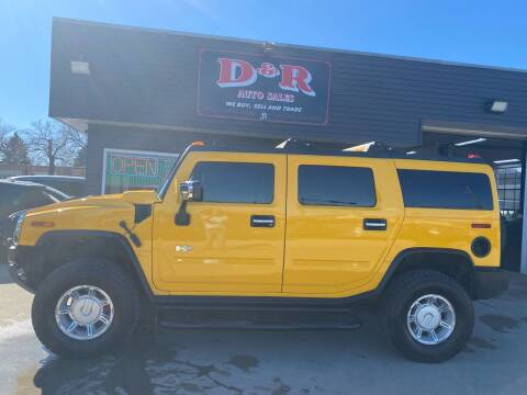 2004 HUMMER H2 for sale at D & R Auto Sales in South Sioux City NE