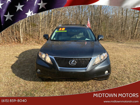 2010 Lexus RX 350 for sale at Midtown Motors in Greenbrier TN