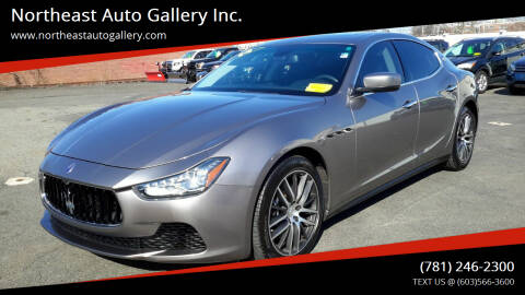 2014 Maserati Ghibli for sale at Northeast Auto Gallery Inc. in Wakefield Ma MA