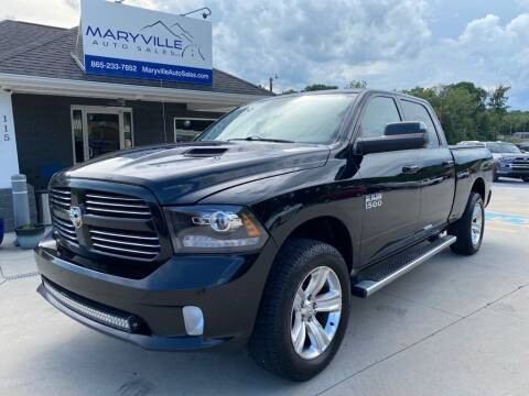2014 RAM Ram Pickup 1500 for sale at Maryville Auto Sales in Maryville TN