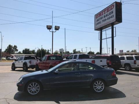 2007 Mercedes-Benz CLK for sale at United Auto Sales in Oklahoma City OK