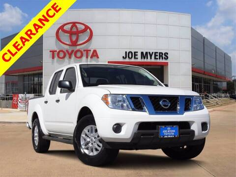 2019 Nissan Frontier for sale at Joe Myers Toyota PreOwned in Houston TX
