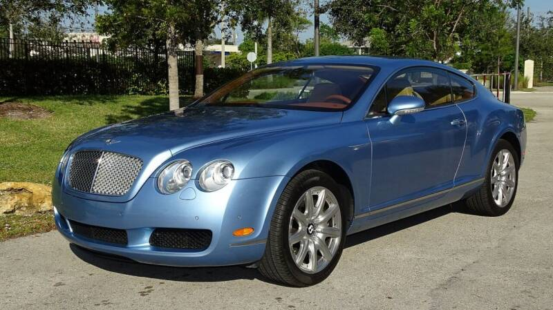 2005 Bentley Continental for sale at Premier Luxury Cars in Oakland Park FL