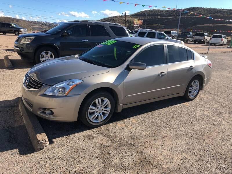 2012 Nissan Altima for sale at Hilltop Motors in Globe AZ