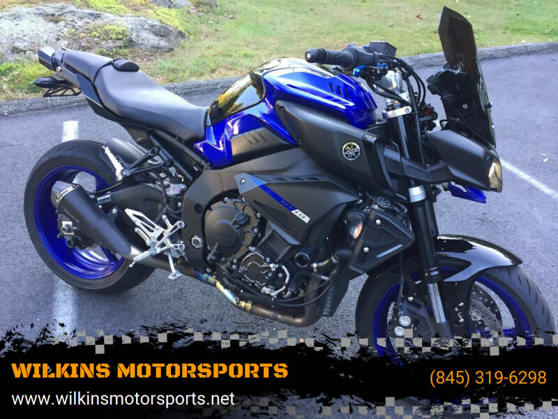 2018 Yamaha MT-10 for sale at WILKINS MOTORSPORTS in Brewster NY