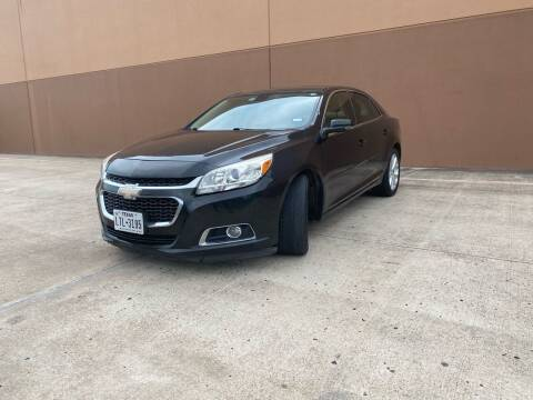 2015 Chevrolet Malibu for sale at ALL STAR MOTORS INC in Houston TX