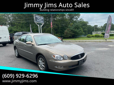 2006 Buick LaCrosse for sale at Jimmy Jims Auto Sales in Tabernacle NJ