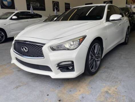 2014 Infiniti Q50 for sale at GCR MOTORSPORTS in Hollywood FL
