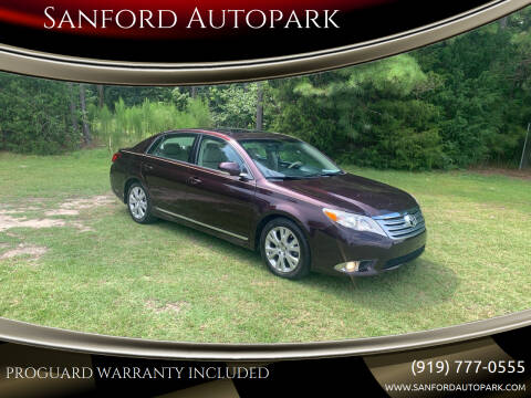 2011 Toyota Avalon for sale at Sanford Autopark in Sanford NC