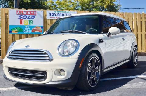 2013 MINI Clubman for sale at ALWAYSSOLD123 INC in Fort Lauderdale FL