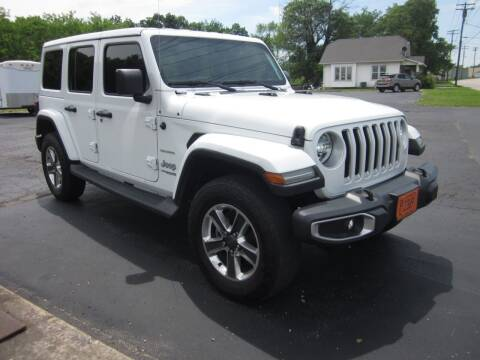 2018 Jeep Wrangler Unlimited for sale at JANSEN'S AUTO SALES MIDWEST TOPPERS & ACCESSORIES in Effingham IL
