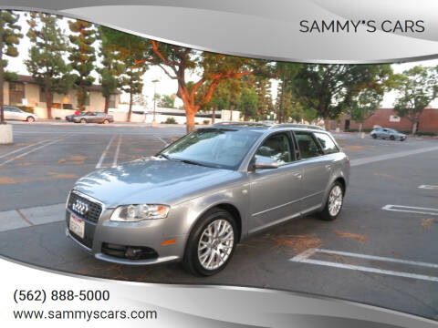 """2008 Audi A4 for sale at SAMMY""""S CARS in Bellflower CA"""