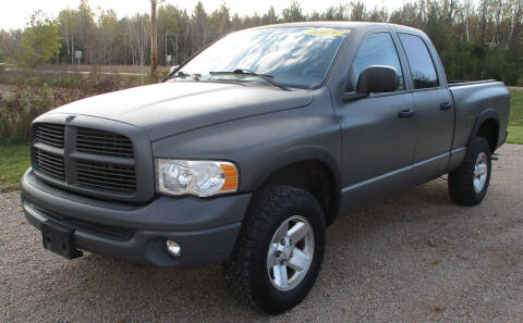 2003 Dodge Ram Pickup 1500 for sale at LOT OF DEALS, LLC in Oconto Falls WI