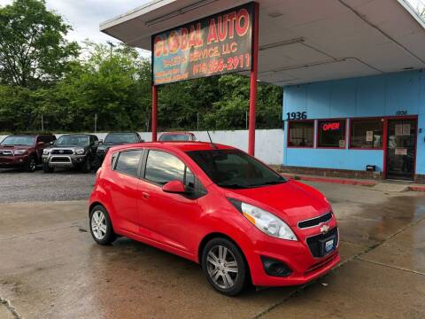2014 Chevrolet Spark for sale at Global Auto Sales and Service in Nashville TN