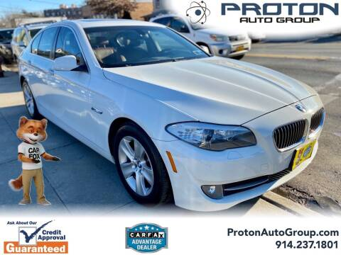 2013 BMW 5 Series for sale at Proton Auto Group in Yonkers NY