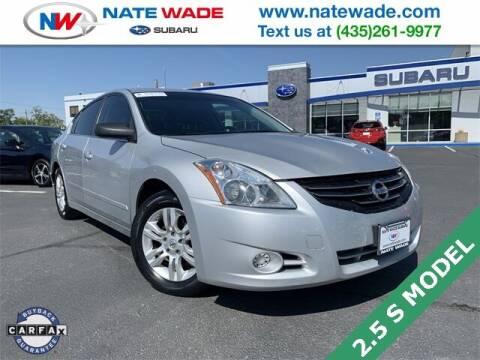 2012 Nissan Altima for sale at NATE WADE SUBARU in Salt Lake City UT