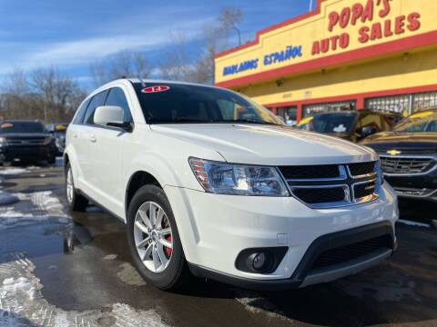 2014 Dodge Journey for sale at Popas Auto Sales in Detroit MI