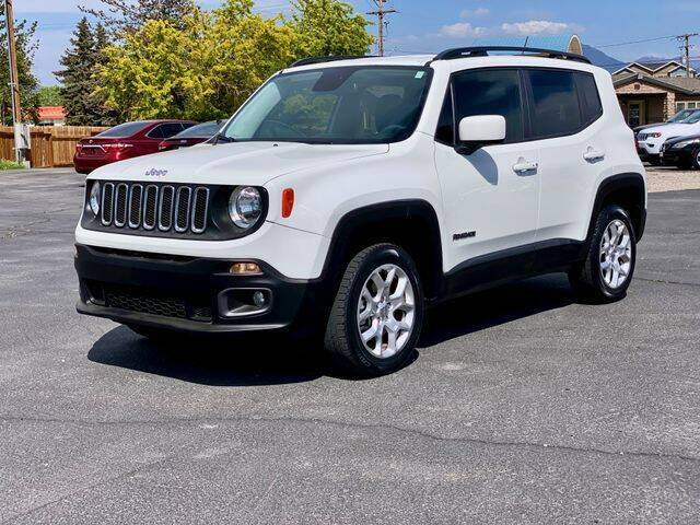 2016 Jeep Renegade for sale at INVICTUS MOTOR COMPANY in West Valley City UT