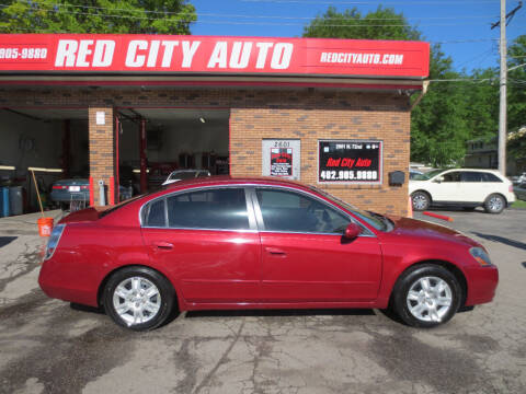 2006 Nissan Altima for sale at Red City  Auto in Omaha NE