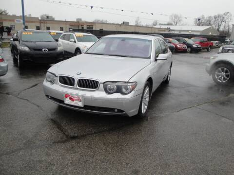 2002 BMW 7 Series for sale at A&S 1 Imports LLC in Cincinnati OH