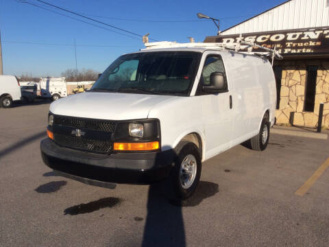 2014 Chevrolet Express Cargo for sale at Discount Auto Sales in Wichita KS