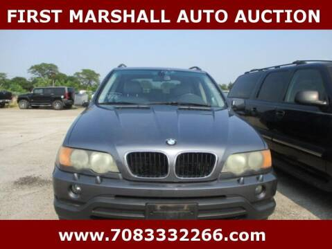 2003 BMW X5 for sale at First Marshall Auto Auction in Harvey IL