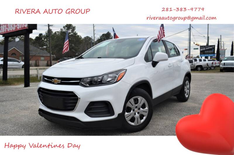2017 Chevrolet Trax for sale at Rivera Auto Group in Spring TX