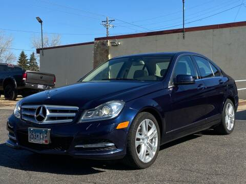 2012 Mercedes-Benz C-Class for sale at North Imports LLC in Burnsville MN