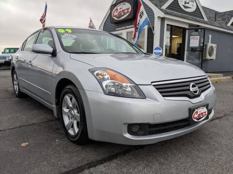 2009 Nissan Altima for sale at Cape Cod Carz in Hyannis MA