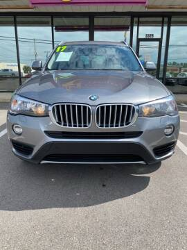 2017 BMW X3 for sale at DRIVEhereNOW.com in Greenville NC