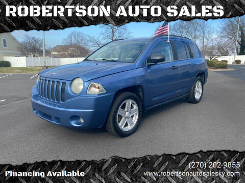 2007 Jeep Compass for sale at ROBERTSON AUTO SALES in Bowling Green KY