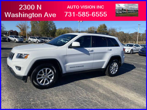 2014 Jeep Grand Cherokee for sale at Auto Vision Inc. in Brownsville TN