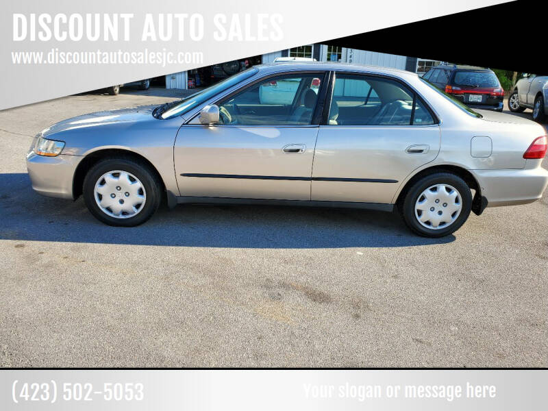 1998 Honda Accord for sale at DISCOUNT AUTO SALES in Johnson City TN