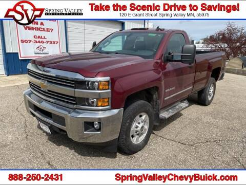 2015 Chevrolet Silverado 2500HD for sale at Spring Valley Chevrolet Buick in Spring Valley MN