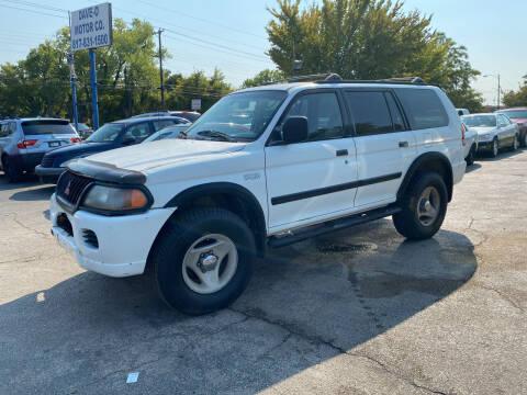 2000 Mitsubishi Montero Sport for sale at Dave-O Motor Co. in Haltom City TX
