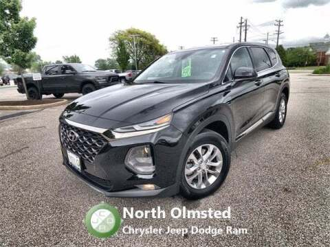 2019 Hyundai Santa Fe for sale at North Olmsted Chrysler Jeep Dodge Ram in North Olmsted OH