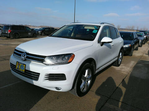 2012 Volkswagen Touareg for sale at Autohaus in Royal Oak MI