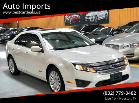 2012 Ford Fusion Hybrid for sale at Auto Imports in Houston TX