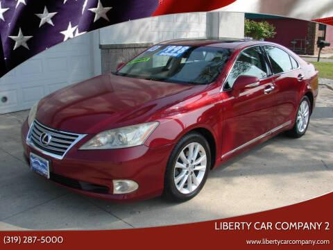 2010 Lexus ES 350 for sale at Liberty Car Company - II in Waterloo IA