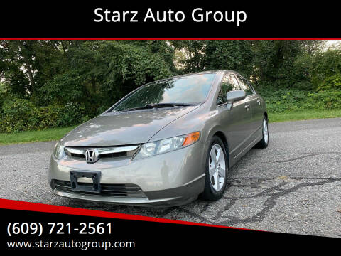 2006 Honda Civic for sale at Starz Auto Group in Delran NJ