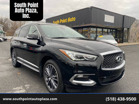 2017 Infiniti QX60 for sale at South Point Auto Plaza, Inc. in Albany NY